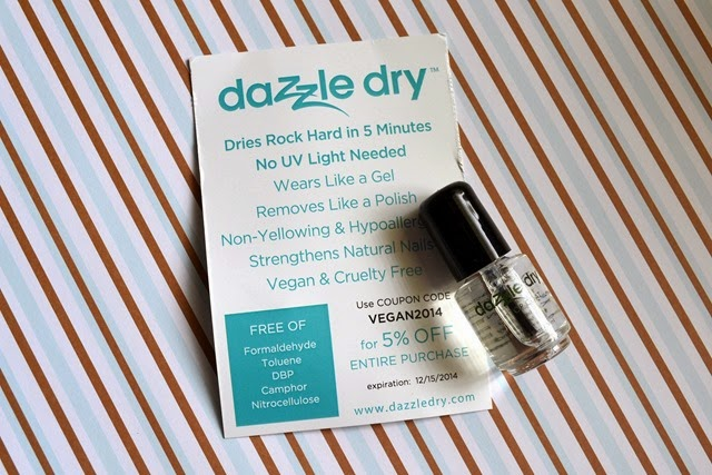 dazzle dry top coat