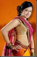 actress sadhika spicy still
