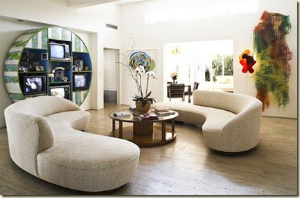 Salas Modernas Minimalistas 7