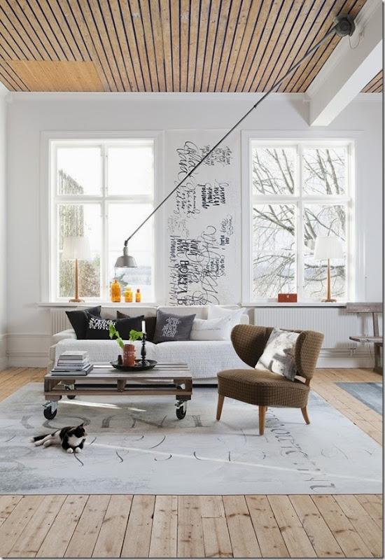 case e interni - stile scandinavo - moderno - bianco (2)