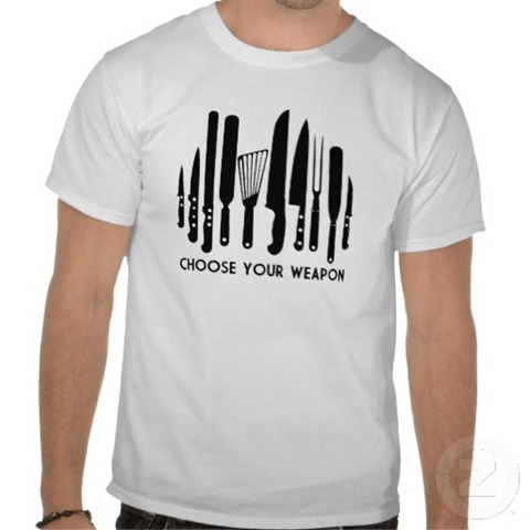 chooseyourweapontshirt