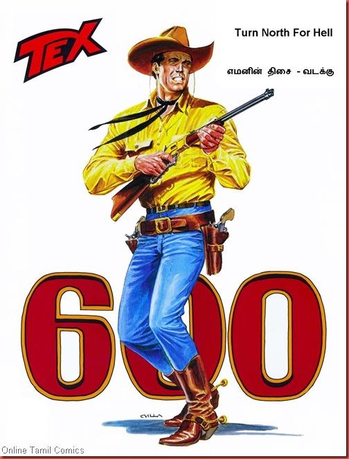 Tex Willer 600 Cover