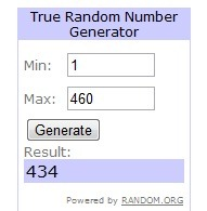 BeddingStyleGiveaway random winner