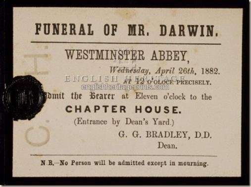 darwin funeral ateismo cristianismo