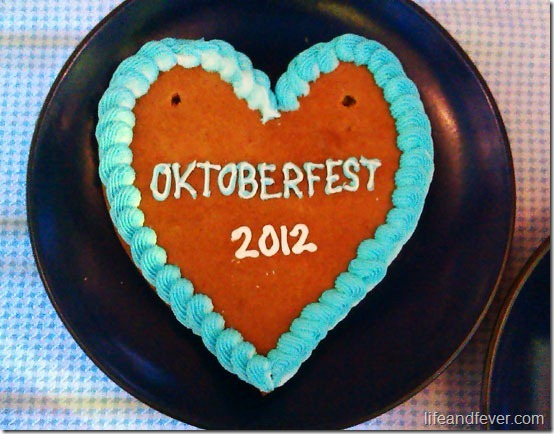 Oktoberfest cookie