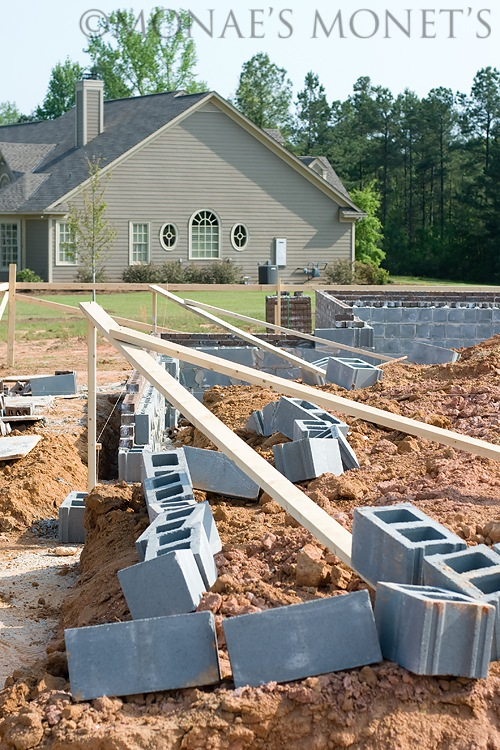 Building footings blog