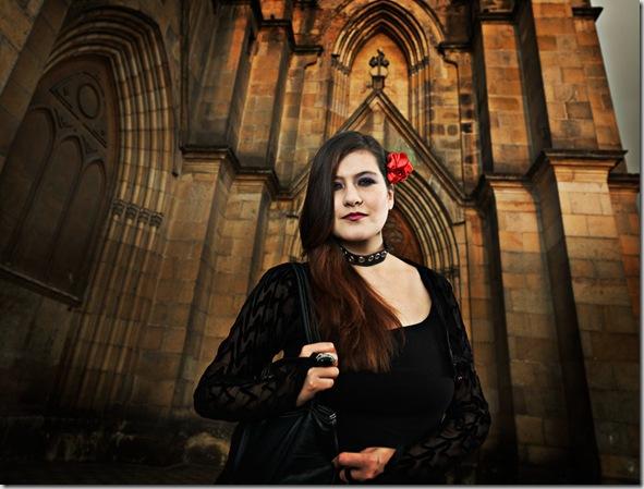 Gothic girl, Lourdes - Bogota, Colombia