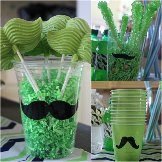 Mustache and Pool Party - 'Stache and Splash