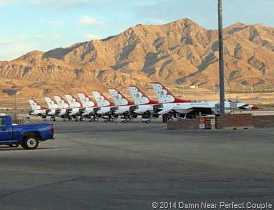 Thunderbirds on Ramp