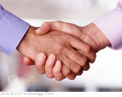 'handshake' photo (c) 2003, buddawiggi - license: http://creativecommons.org/licenses/by/2.0/