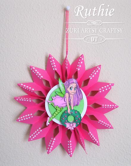 Zuri Artsy Craftsy - Shea - Rosette - Ruthie Lopez - My Hobby My Art