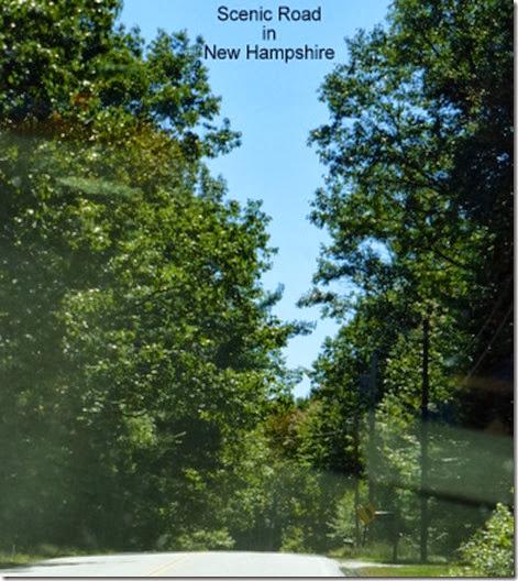 Scenic Road in New Hampshire