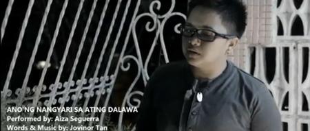Aiza Seguerra in Ano'ng Nangyari Sa Ating Dalawa music video