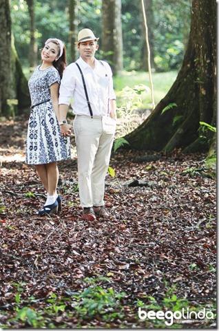 Beego Dan Linda Hashim Kongsi Gambar Pra Perkahwinan-1