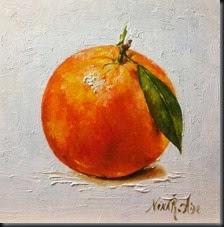 Orange with Leave 2
