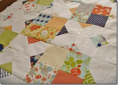 Happy Go Lucky quilt top