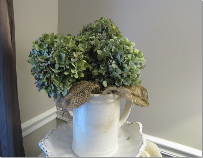 hydrangeas  pitcher 2