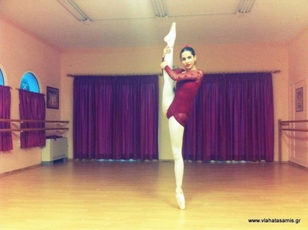 Θύμισε την Maya Plisetskaya η Γιοβάνα Ζάριτς από τα Κουντουράτα Κεφαλονιάς