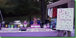My booth at Golden Hill's 2012 Apple Festival!