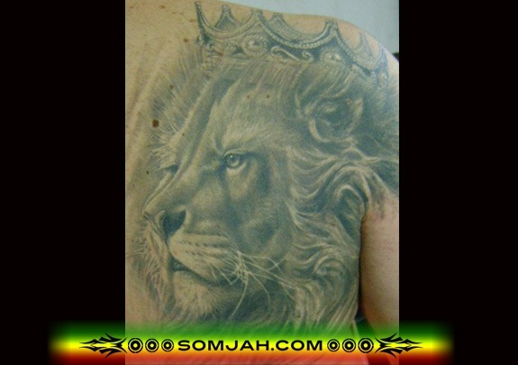 Tatoo Reggae SOMJAH 08