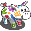 Stencil Pig