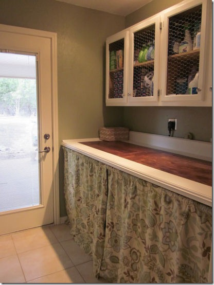 friday feature laundry room from domestic imperfection blog