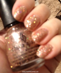 China Glaze Champagne Kisses 5