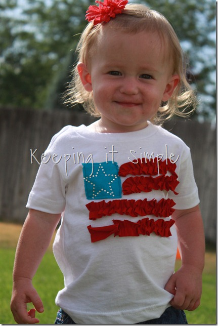 american flag shirt
