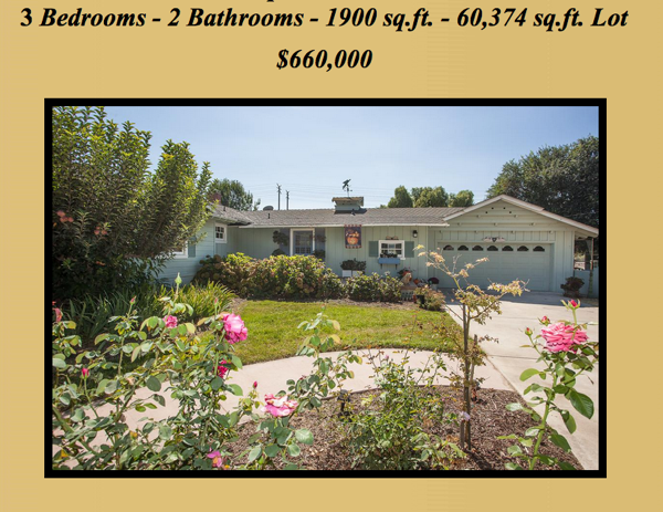 Moorpark home listing