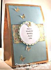 CCC challenge 187 matching gift bag (side view)