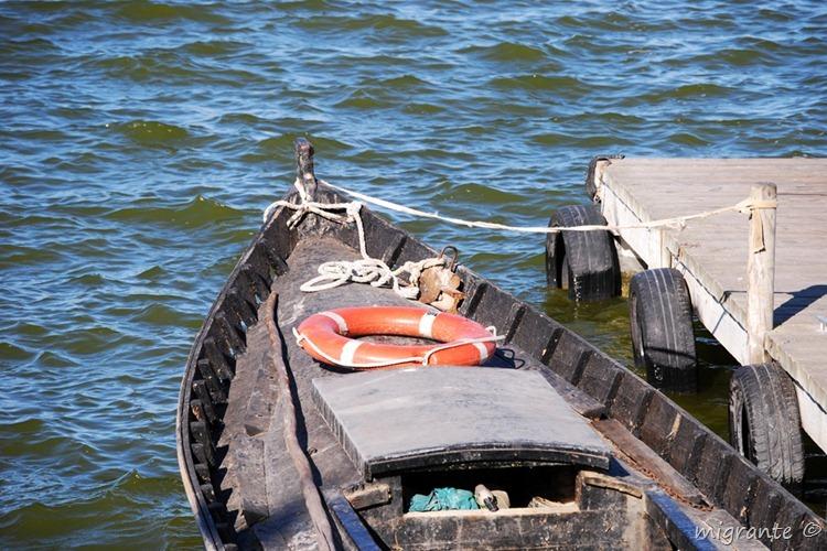 barca en la albufera - valencia