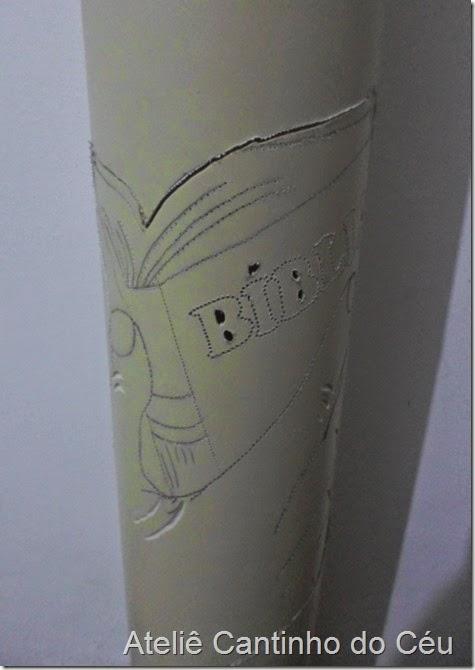 Luminaria PVC Atelie cantinho do ceu 2