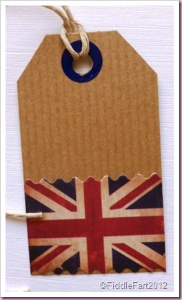 Union Flag tag