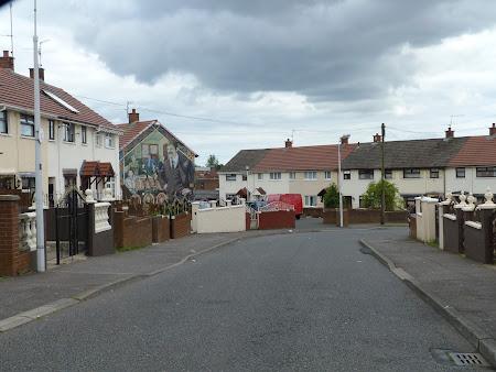 Obiective turistice Irlanda de Nord: cartier catolic Belfast