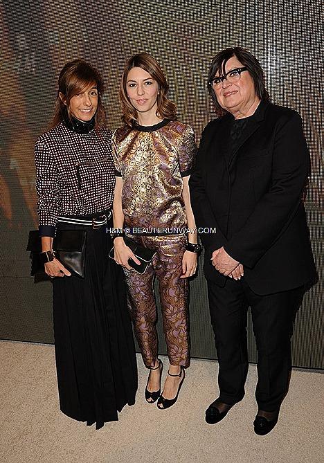 MARNI H&M USA  lauch CONSUELO COPPOLA MILA JOVOVICH Sofia Coppola WINONA RYDER DREW BARRYMORE