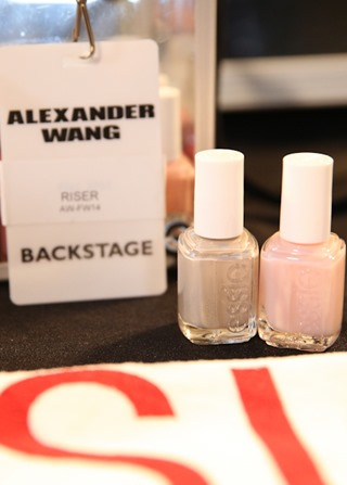 essie for Alexander Wang NYFW 2014