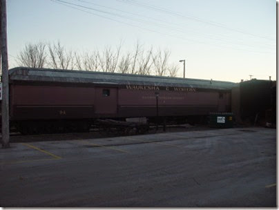 082 Waukesha - Restaurant Baggage Car