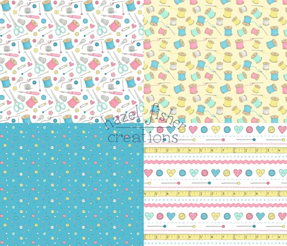2014 June 28 spoonflower surface pattern design fabric sewing notions