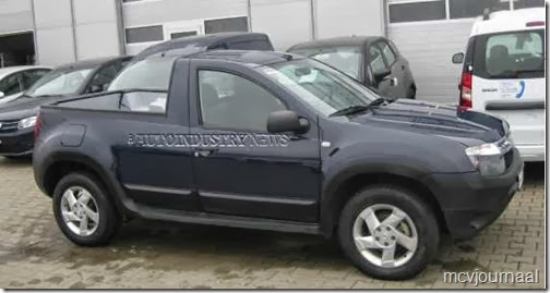 Dacia Duster Pick-up 01