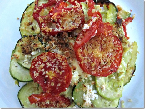 Zucchini Quinoa Gratin | everylittlethingblog.com