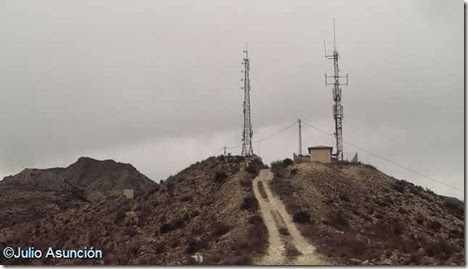 Cima de la sierra de la Torreta - Elda