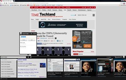 Yahoo axis for desktop