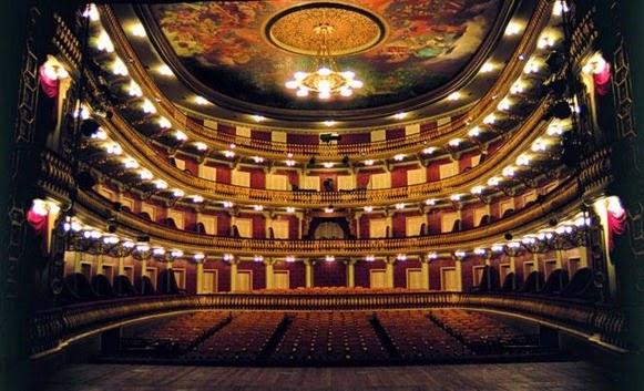 Salao de Espetaculos del Teatro da Paz - Belém do Parà