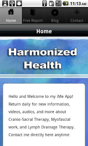 Harmonized Health