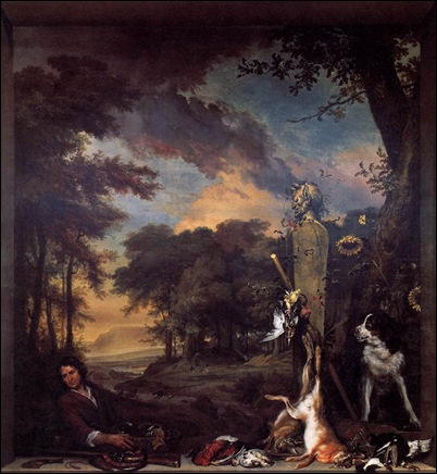 Landscape_with_Huntsman_and_Dead_Game_1697_Jan_Weenix