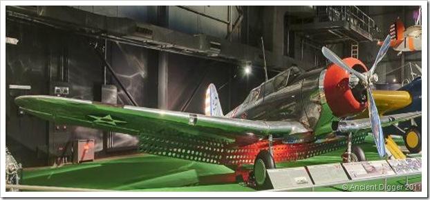 Northrop A-17A aircraft