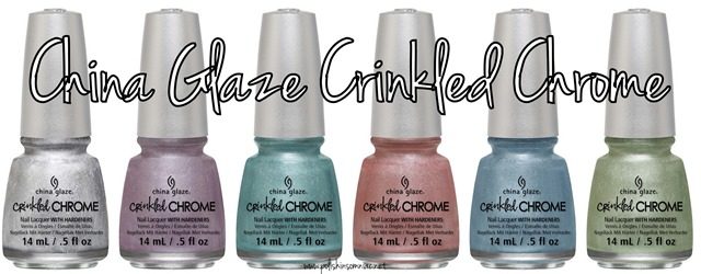 China Glaze Crinkled Chrome