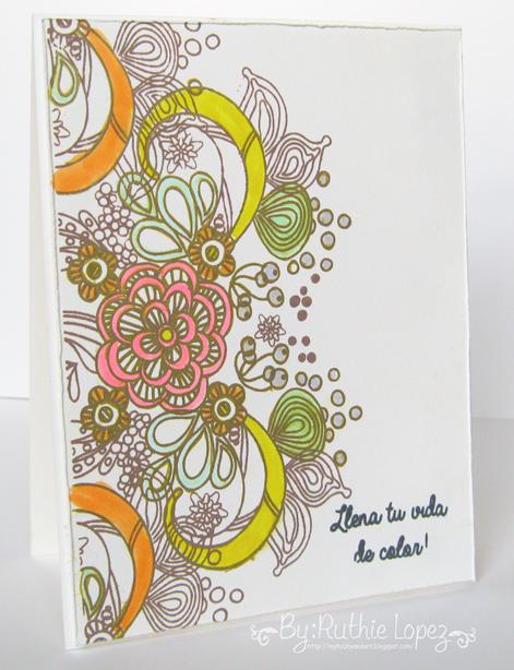 Color Paws - Sellos en español - Ruthie Lopez
