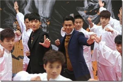 2014.11.12 Eddie Peng during Rise of the Legend - 彭于晏 黃飛鴻之英雄有夢 上海 - 主題曲MV首發 03