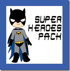 superhero worksheets for kids